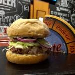 Cordon Bleu Raclette Burger