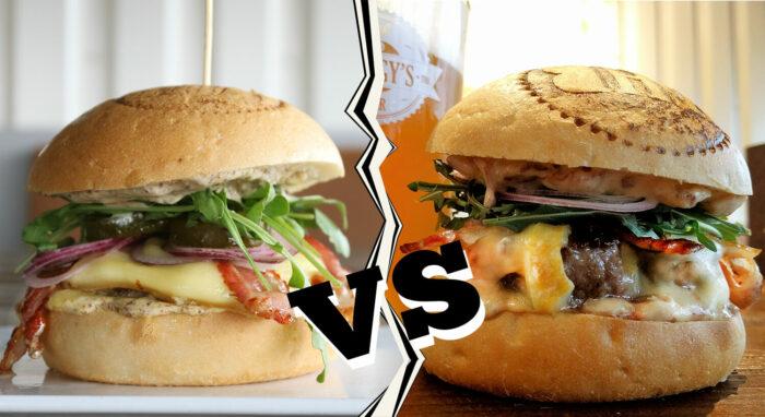 Raclette Burger VS Tartiflette Burger